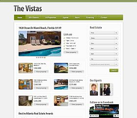 The Vistas WordPress Theme by Gorilla Themes
