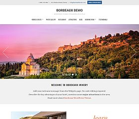 Bordeaux WordPress Theme by Hermes Themes
