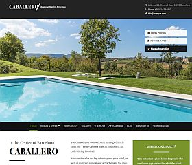 Caballero WordPress Theme by Hermes Themes