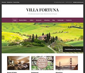 Fortuna WordPress Theme by Hermes Themes