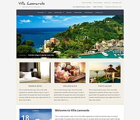 Leonardo WordPress Theme by Hermes Themes