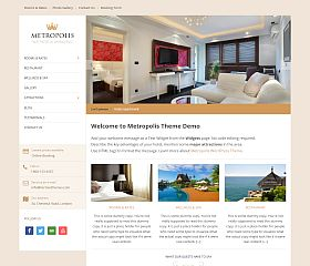 Metropolis WordPress Theme by Hermes Themes