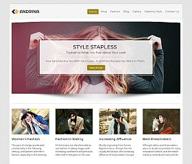 Andrina WordPress Theme via InkThemes