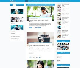 BlogSping WordPress Theme via InkThemes