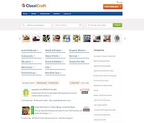 ClassiCraft WordPress Theme via InkThemes