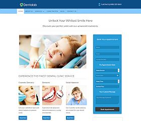 Dentalab WordPress Theme by InkThemes