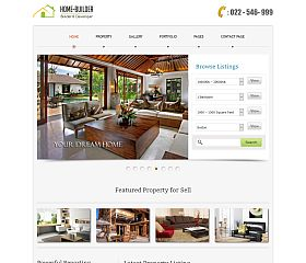 Homebuilder WordPress Theme by InkThemes