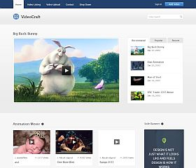 VideoCraft WordPress Theme by InkThemes