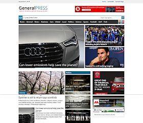 GeneralPress WordPress Theme by Magazine3