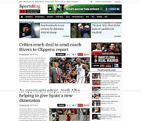 SportsBlog WordPress Theme by Magazine3