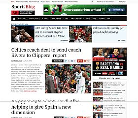 SportsBlog WordPress Theme by Magazine3