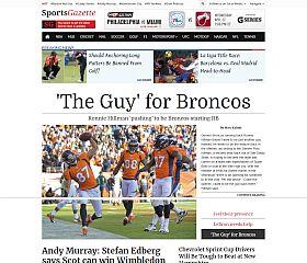 SportsGazette WordPress Theme by Magazine3