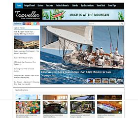 Traveller WordPress Theme by Magazine3