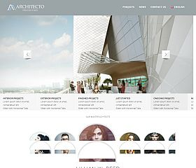 Architecto WordPress Theme via MOJO Marketplace