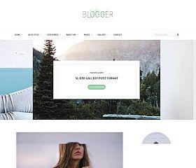 Blogger WordPress Theme via MOJO Marketplace