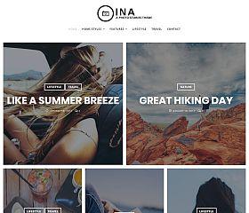 Ina WordPress Theme via MOJO Marketplace