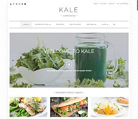KALE WordPress Theme via MOJO Marketplace