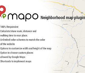 Mapo WordPress Plugin via MOJO Marketplace