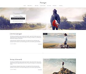 Passenger WordPress Theme via MOJO Marketplace