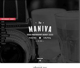 Photography Agency WordPress Theme via MOJO Marketplace