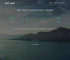 TickTock WordPress Theme via MOJO Marketplace