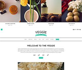 Veggie WordPress Theme via MOJO Marketplace