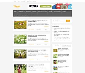 Bloggie WordPress Theme by MyThemeShop