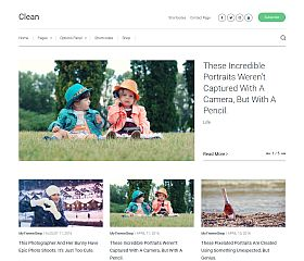 Clean WordPress Theme by MyThemeShop