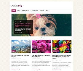 FashionBlog WordPress Theme by MyThemeShop