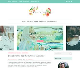 Feminine WordPress Theme by MyThemeShop