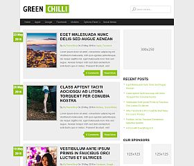 GreenChilli WordPress Theme by MyThemeShop