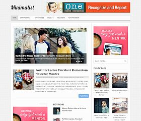 Minimalist WordPress Theme by MyThemeShop
