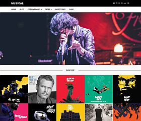 Musical WordPress Theme by MyThemeShop