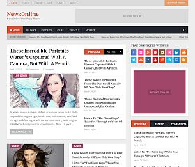 NewsOnline WordPress Theme by MyThemeShop