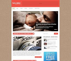 Saturation WordPress Theme by MyThemeShop