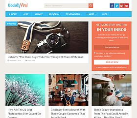 SociallyViral WordPress Theme by MyThemeShop