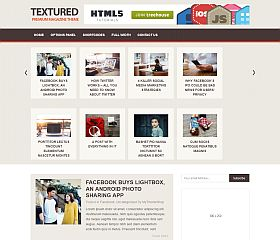 Textured WordPress Theme by MyThemeShop