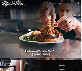 Mise En Place WordPress Theme by Organized Themes