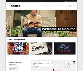 Pneuma WordPress Theme by Organized Themes