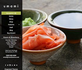 Umami WordPress Theme by Organized Themes