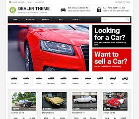 Car Dealer Theme WordPress Theme by PremiumPress