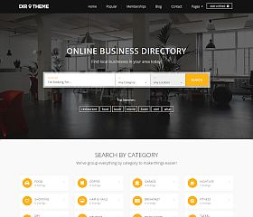 Directory Theme WordPress Theme by PremiumPress