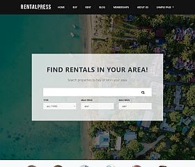 Real Estate Theme WordPress Theme by PremiumPress