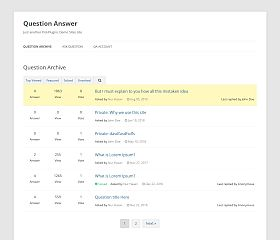 Question Answer WordPress Plugin