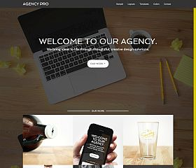 Agency Pro Genesis Child Theme for WordPress by StudioPress