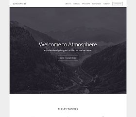 Atmosphere Genesis Child Theme for WordPress by StudioPress
