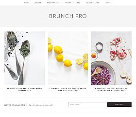 Brunch Pro Genesis Child Theme for WordPress by StudioPress