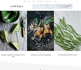 Cook'd Pro Genesis Child Theme for WordPress by StudioPress