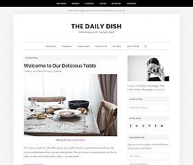 Daily Dish Pro Genesis Child Theme for WordPress by StudioPress