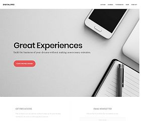 Digital Pro Genesis Child Theme for WordPress by StudioPress